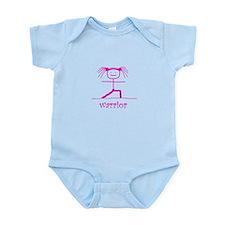 Warrior (Pink): Infant Bodysuit
