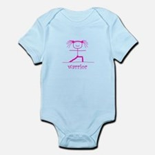 Warrior (Pink): Infant Bodysuit
