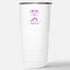 Warrior (Pink): Travel Mug