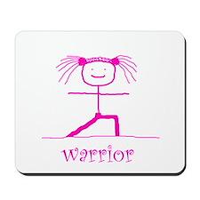 Warrior (Pink): Mousepad