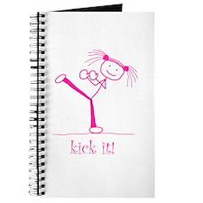 kick it! (pink) Journal