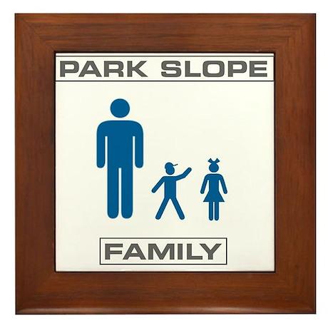 Park Slope Single Dad Framed Tile