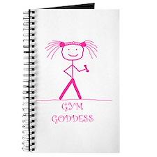 Gym Goddess (Pink): Journal
