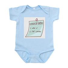 Homeschool Schedule Infant Creeper