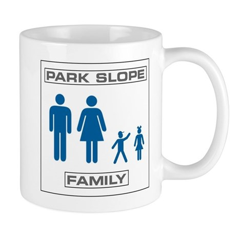 Park Slope Mommy and Daddy Mug