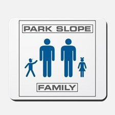 Park Slope Two Daddies Mousepad
