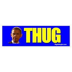 Obama: THUG Bumper Bumper Sticker