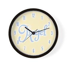 Angel Text Wall Clock