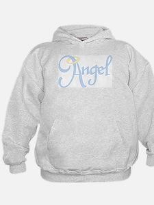 Angel Text Hoodie