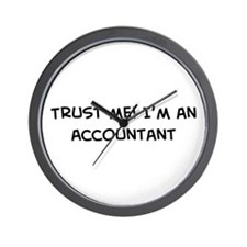 Trust Me: Accountant Wall Clock