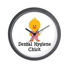 Dental Hygiene Chick Wall Clock