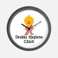 Dental Hygiene Chick Wall Clock