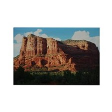 Courthouse Rock Rectangle Magnet