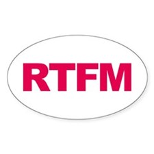 RTFM Decal