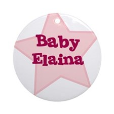 Baby Elaina Ornament (Round)
