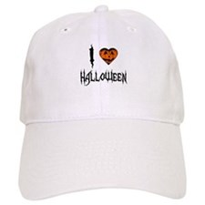 I Love Halloween Baseball Cap