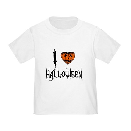 I Love Halloween Toddler T-Shirt