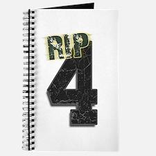 #4 Brett Favre Funeral RIP Journal