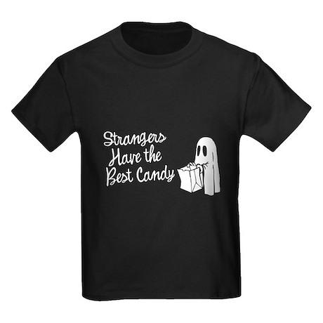 Strangers Have the Best Candy Kids Dark T-Shirt