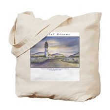 Coastal Dreams Lighthouse Tote Bag