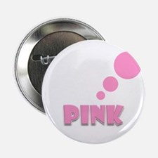 """Pink Thinking 2.25"""" Button (100 pack)"""