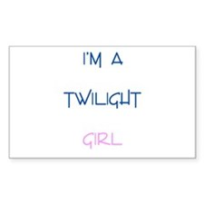 Twilight New Moon Movie Merch Rectangle Decal