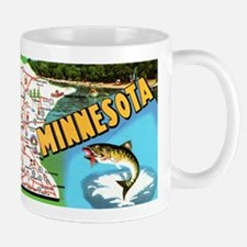 Minnesota State Map Mugs
