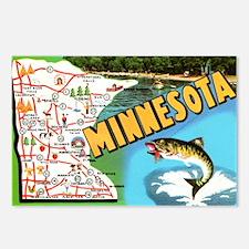Cute Minnesota Postcards (Package of 8)