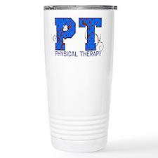 Polka Dot Travel Coffee Mug