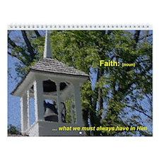 2010 Faith Wall Calendar - On Sale!