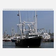 USA Commercial Fishing - Seafood Wall Calendar