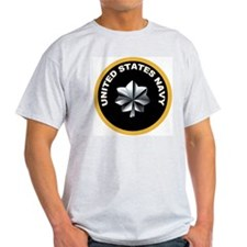 Commander Ash Grey T-Shirt
