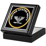 Navy captain Keepsake Boxes