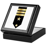 Navy commander Keepsake Boxes