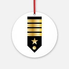 Capt. Board Ornament (Round)