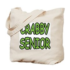 crabby senior tan too much beach Tote Bag
