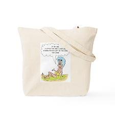 crabby senior tan too much beach Tote Bag