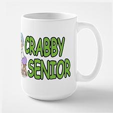 crabby senior Large Mug