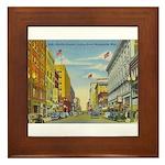 1940's Minneapolis Nicollet Avenue Framed Tile