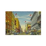 1940's Minneapolis Nicollet Avenue Rectangle Magne