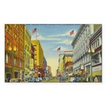 1940's Minneapolis Nicollet Avenue Sticker (Rectan