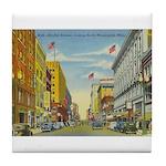 1940's Minneapolis Nicollet Avenue Tile Coaster