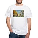 1940's Minneapolis Nicollet Avenue White T-Shirt