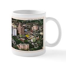 Rochester Aerial View Small Mug