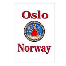 Unique Scandinavian Postcards (Package of 8)