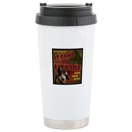 Came from the Library Stainless Steel Travel Mug