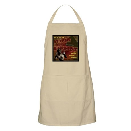 Came from the Library BBQ Apron