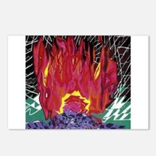 Fire on a Plane of Existence Postcards (Package of
