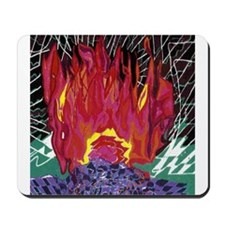 Fire on a Plane of Existence Mousepad