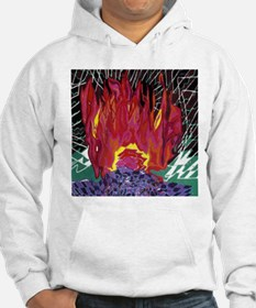 Fire on a Plane of Existence Hoodie